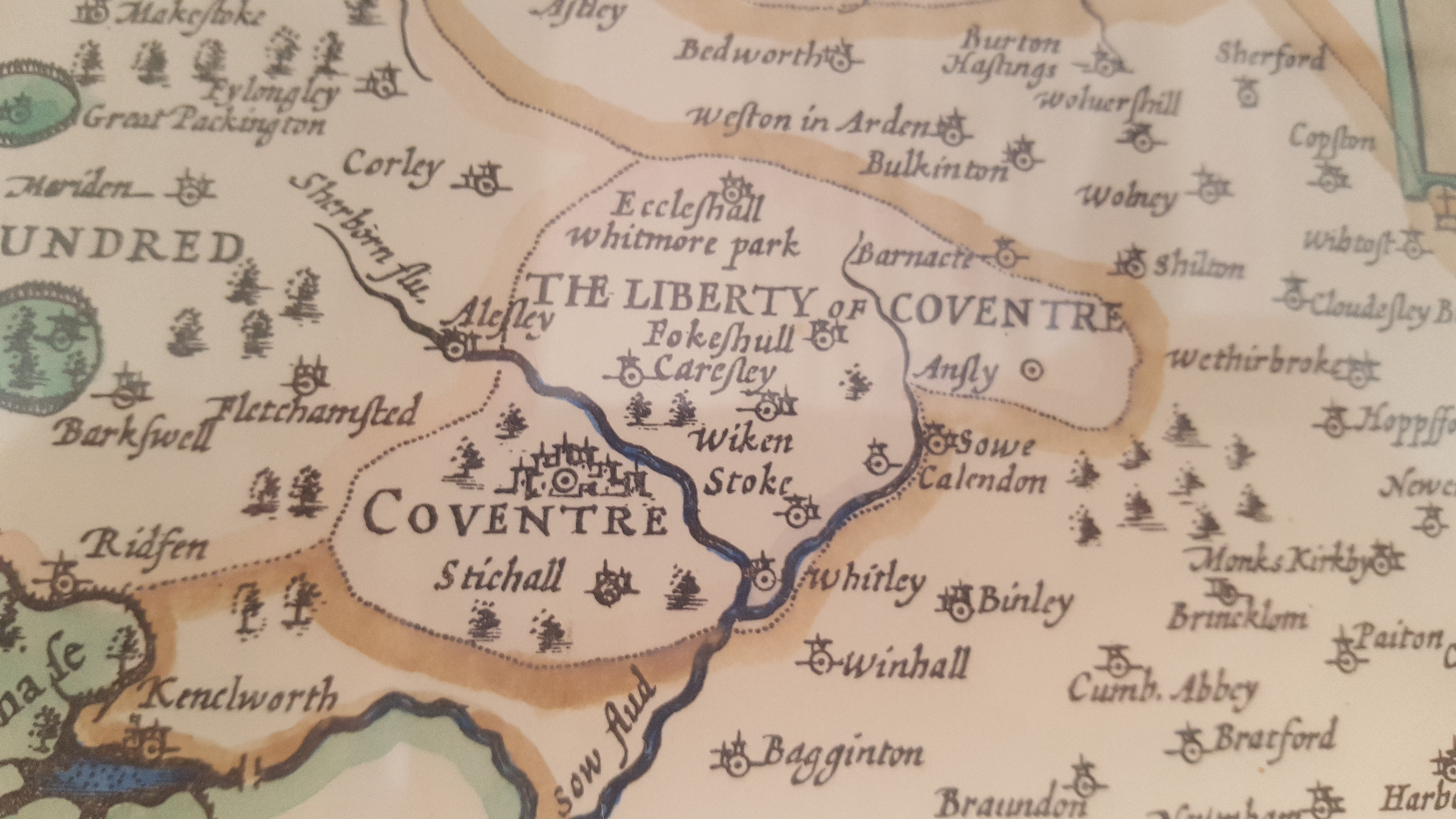 Back in the day, the Liberty of Coventry.