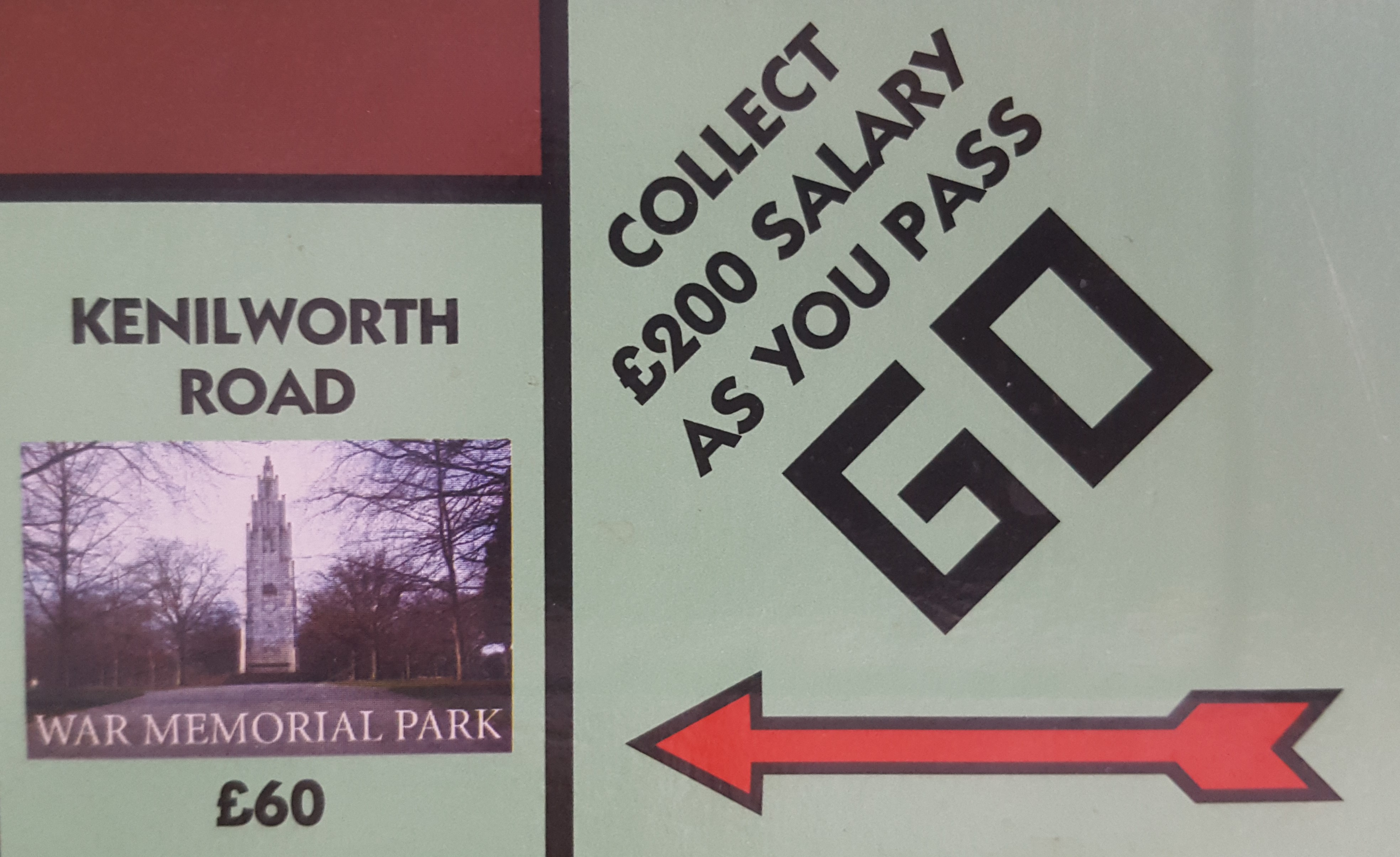 Kenilworth Road for less than a third of salary? Yes please!