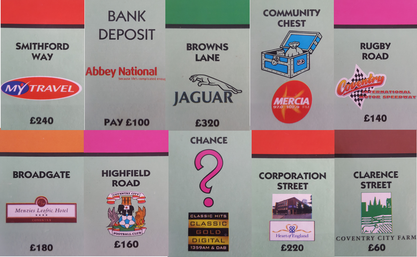 Just a taster of how much Cov has changed since 2002