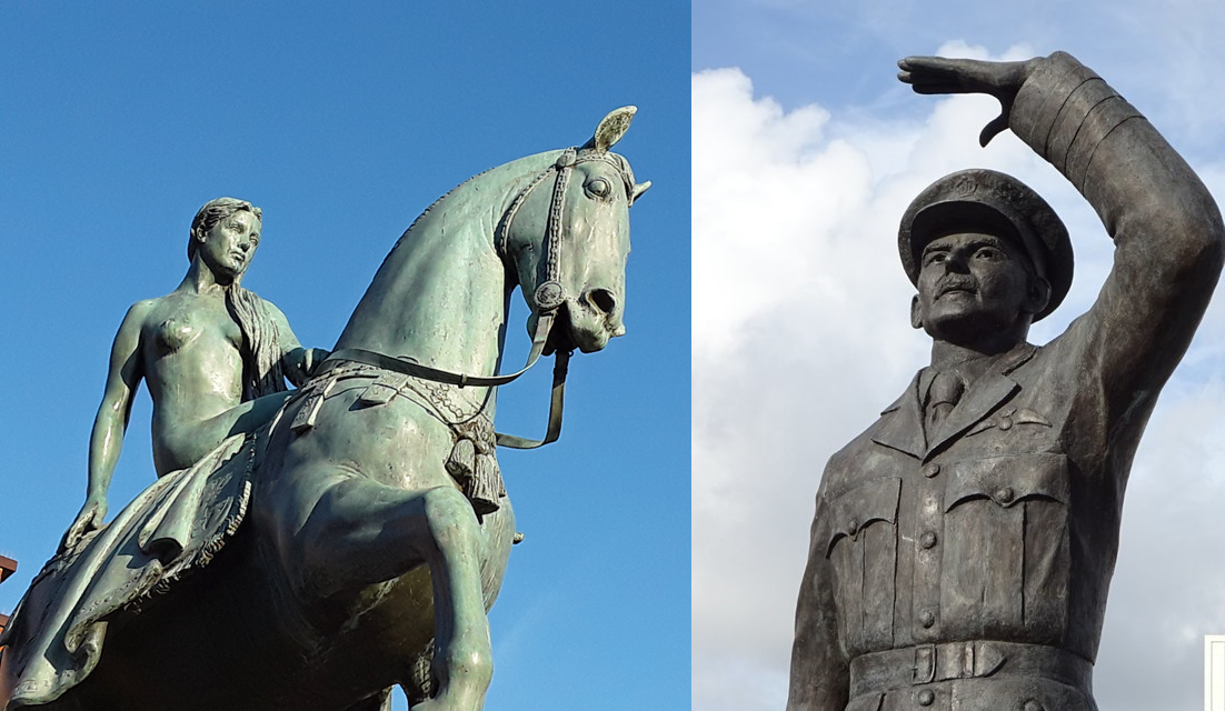Statues - Lady Godiva and Sir Frank Whittle